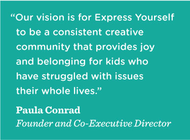 Paula Conrad on Express Yourself