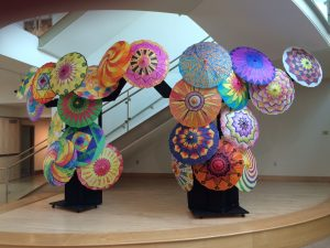 Parasol Exhibit at Endicott College